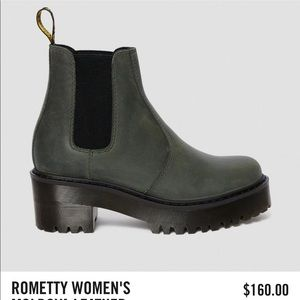 Rometty Women's Maldova Leather Platform boots